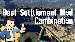 Fallout 4 - Best Settlement Mod Combination