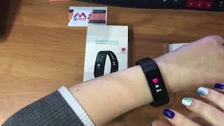 Фитнес часы Smar Bracelet Y5 с измерением давления и сердечного ритма