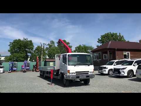 Бортовой с манипулятором Mitsubishi Fuso 5тонн в продаже во Владивостоке | Вся спецтехника из Японии