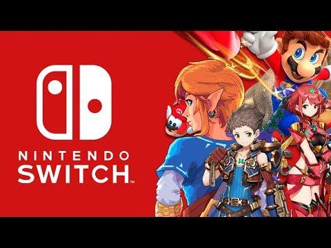 Nintendo Direct Switch News - Mario Odyssey, Breath of the Wild, Xenoblade