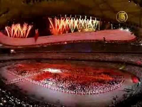 Beijing Olympics Ceremony Partially Faked