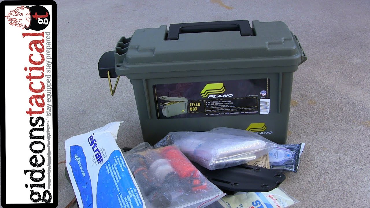 Ammo Box Survival Kit Quick Amp Easy Youtube