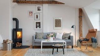 Scandinavian Design: Apartment On Badhusgatan
