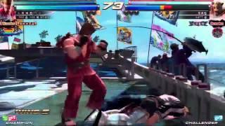 Tekken Tag 2 Unlimited Knee (Jin/Paul) vs Dotoring (Kings/Marduk)