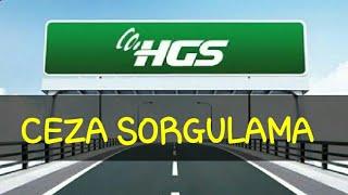 HGS Ceza Sorgulama (ONLİNE)