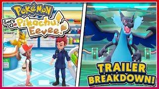 Pokémon Let's Go! Pikachu & Let's Go! Eevee - New TRAILER Breakdown!!