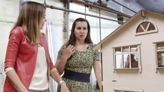 видео Необычный кукольный домик для взрослых