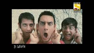 3Idiots Promo for Hypp TV Sony Max