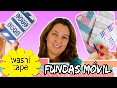 6496b49c4e9 FUNDAS para movil o celular con WASHI TAPE * DIY Iphone case - YouTube