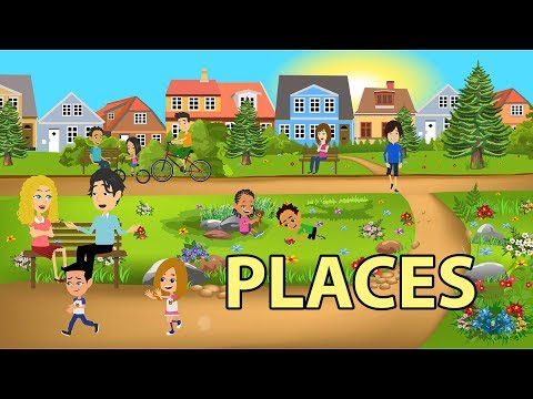 Places Vocabulary In English