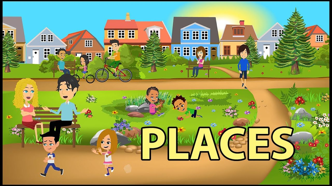 Download Places Vocabulary in English