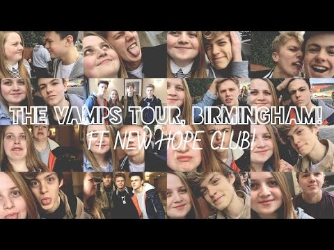 VLOG | The Vamps Wake Up Tour, Birmingham ft New Hope Club!