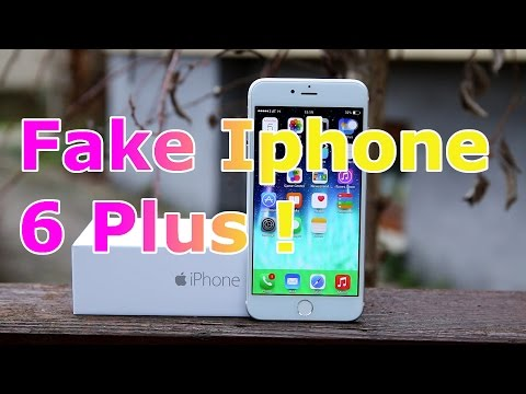 Fake Iphone 6 Plus Review - Sophone I6 1:1 Copy - How to spot an Iphone Clone [HD]