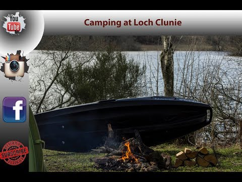 Camping at Loch Clunie, Some photography, campfire cooking, bushcraft and a paddle in a canoe.