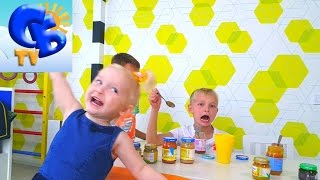 BABY FOOD CHALLENGE ЧЕЛЛЕНДЖ Фруктовых Пюре Challenge of Fruit Puree