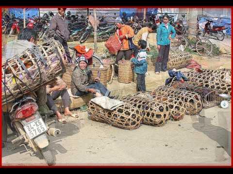 Vietnam,   Bac Ha Market