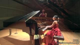 グリュンフェルト: 《ウィーンの夜会》ヨハン・シュトラウスのワルツ主題による演奏会用パラフレーズ,op.56  小田倉知加