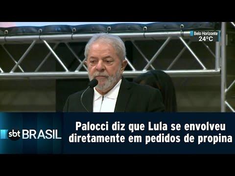 Palocci diz que Lula se envolveu diretamente em pedidos de propina | SBT Brasil (11/09/18)