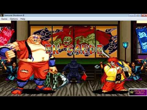 [Trở Về Tuổi Thơ] Phá Đảo Game Samurai Shodown 2 với nhân vật Earthquake bự con