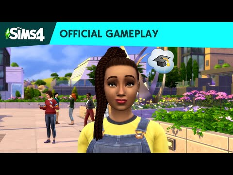 The Sims™ 4 Discover University: Official Gameplay Trailer