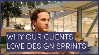 WHY OUR CLIENTS LOVE DESIGN SPRINTS