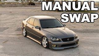 IS300 Manual Swap!!! (Step By Step)