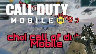 Chơi thử battle Royal trong game call of duty Mobile VN ( game đc phát hành bởi vng)