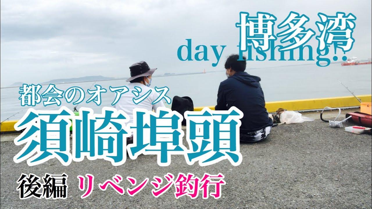 #054 後編【福岡 博多湾 須崎埠頭でリベンジ釣り!】fukuoka fishing club in hakata suzaki wharf