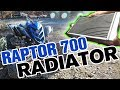 Yamaha Raptor 700 Radiator Installation plus YFZ450 Cooling Fan Upgrade