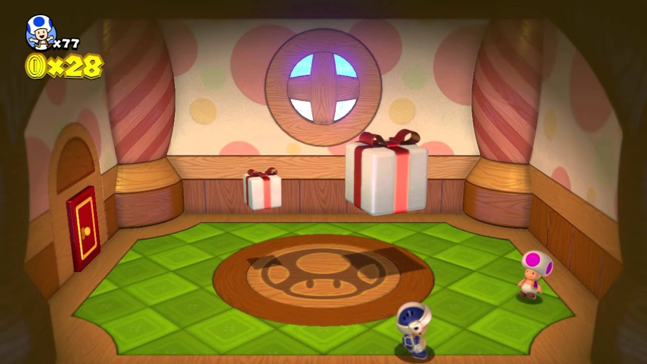 Super Mario World 5 Mushroom House