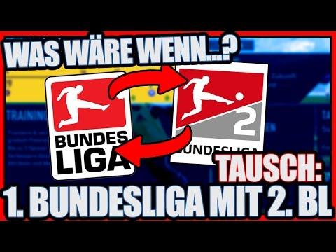 FIFA 17: TAUSCH DER BUNDESLIGA MIT DER 2. BUNDESLIGA!?  - WAS PASSIERT WENN?! | DEUTSCH