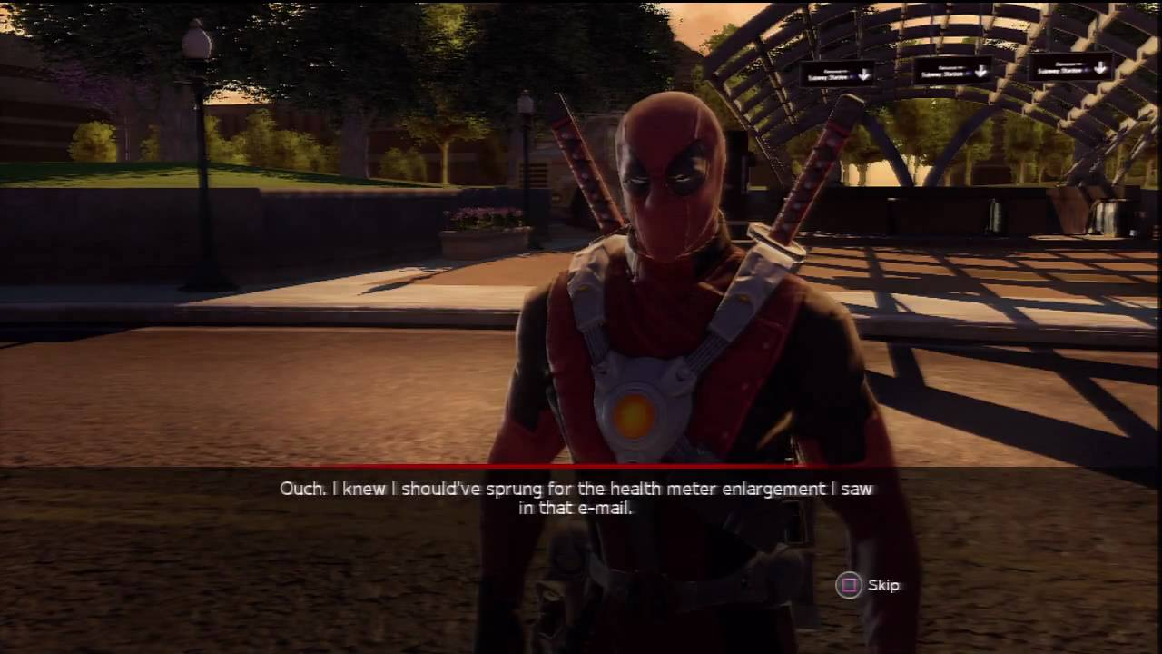 Marvel Ultimate Alliance 2 - Deadpool Battle - YouTube