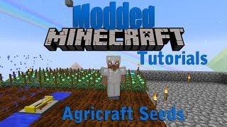 Modded Minecraft: Agricraft Tutorial: Magical Crop seeds verbeteren