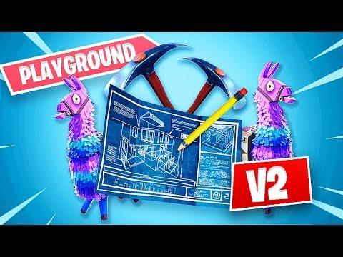 New Fortnite Update *Playground Mode V2* (Fortnite Battle Royale)