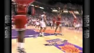 Grant blocks Johnson  1993 finals