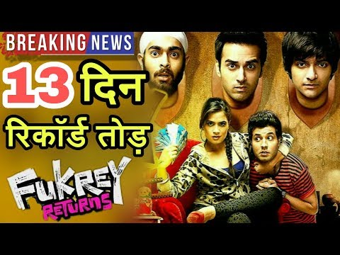 Fukrey Returns 13th Day Collection | 2Weeks Total Collection | Super Hit