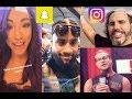 WWE Snapchat/Instagram ft. Sasha Banks, The Usos, Matt Hardy, Becky Lynch, Dolph Ziggler n MORE