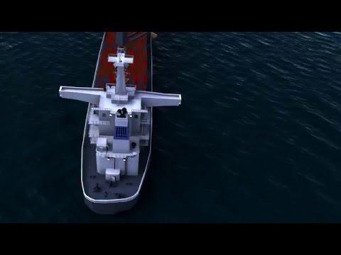 CARGO SHIP DERRICKS