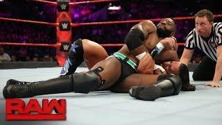 Cedric Alexander vs. Tony Nese: Raw, Jan. 15, 2018