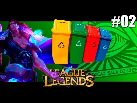 League of Legends Episódio #02 - Taric e o Time Lixo! (FINAL)