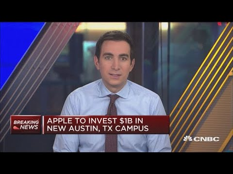 Apple to invest $1B in new Austin campus Mp3
