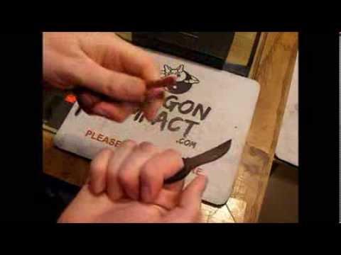 Talon Personal Tactical Tool Neck Knife Finger Karambit
