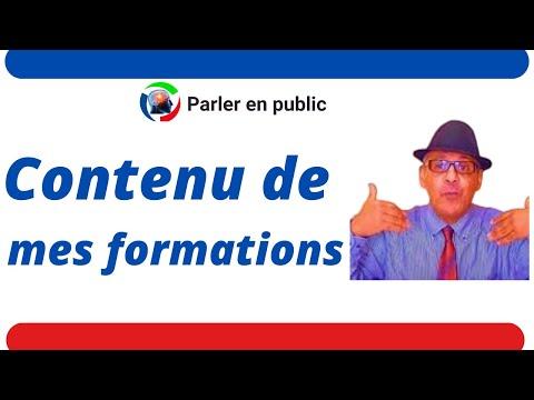 Communication et expression orale en français. Rabat, Maroc parler en public