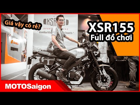 Yamaha XSR155 review chi tiết phụ kiện đồ chơi xe kèm giá bán