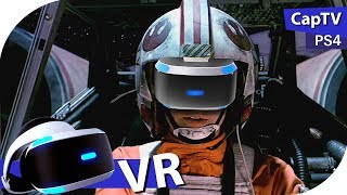Star Wars - VR Mission - Rogue One - X Wing - Прохождение на PS4