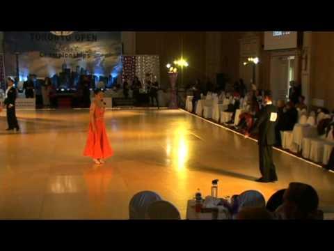 Ballroom Pro-Am Standard Bronze 3-Dance: Waltz, Foxtrot, Quickstep. 2014 Toronto Open.