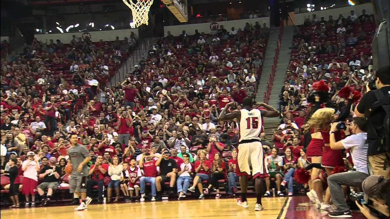 Unlv rebels basketball 2012 2013 first look dunk contest youtube voltagebd Choice Image