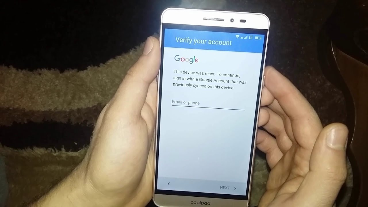 CoolPad MAX A8 FRP BYPASS Google Account Lock (JANUARY 2017)