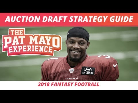 2018 Fantasy Football Rankings — Auction Draft Strategy, Tips, Tricks & Budgeting