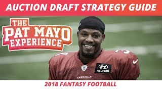 2018 Fantasy Football Rankings — Auction Draft Strategy, Tips, Tricks & Budgeting